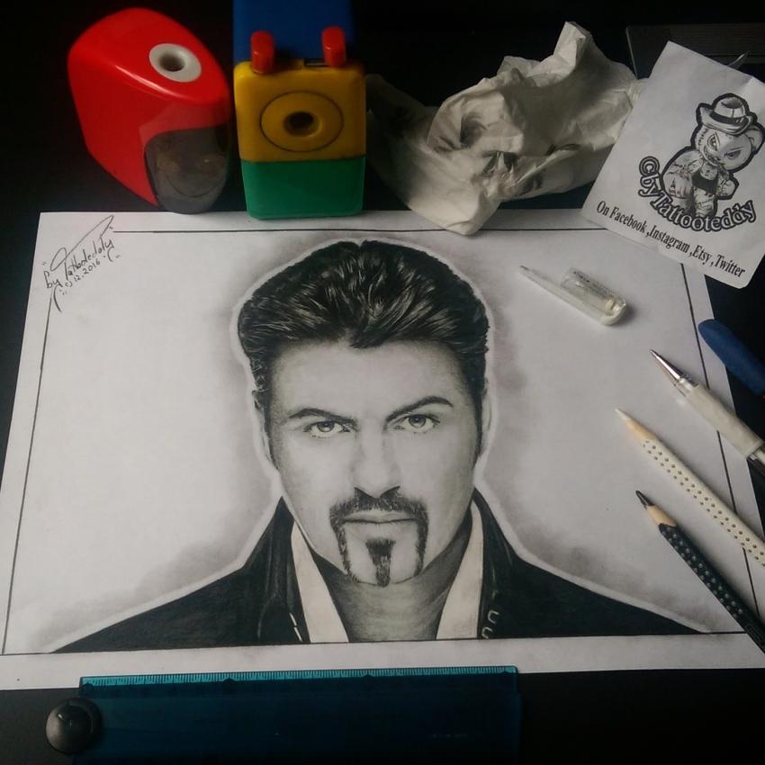 George Michael by byTattooteddy